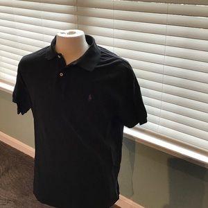 Polo by Ralph Lauren Shirts - Polo Ralph Lauren Black Polo Shirt EUC